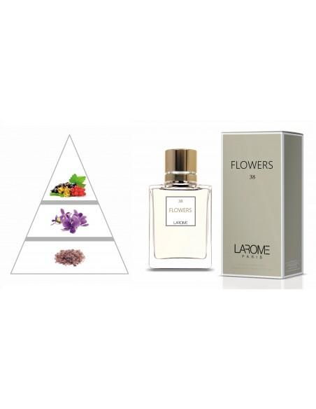 FLOWERS by LAROME (38F) Perfum Femení - Piràmide olfactiva