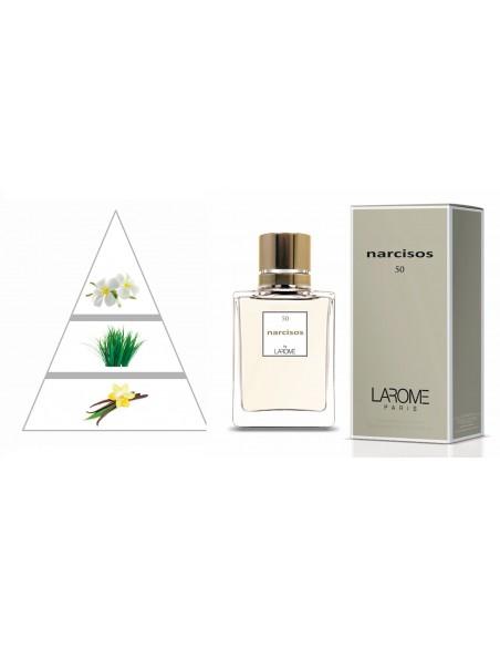 NARCISOS by LAROME (50F) Perfum Femení - Piràmide olfactiva