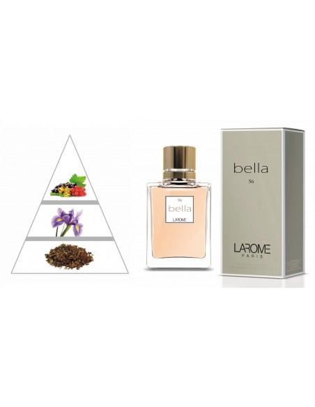 BELLA by LAROME (56F) Perfume Femenino - Pirámide olfativa