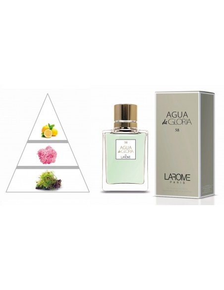 AGUA DE GLORIA by LAROME (58F) Perfum Femení - Piràmide olfactiva