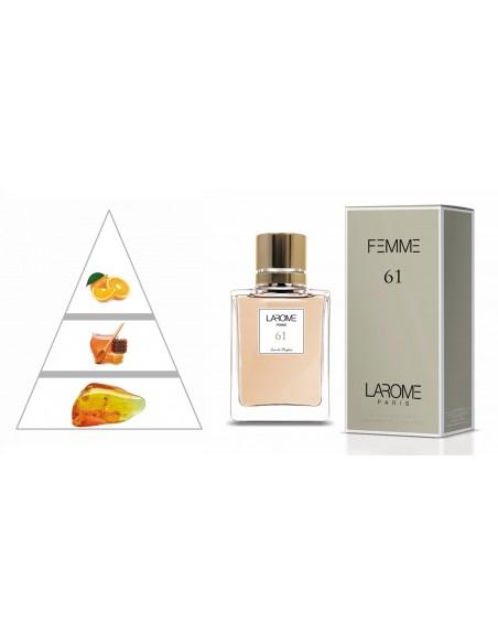 LAROME (61F) Perfum Femení - Piràmide olfactiva