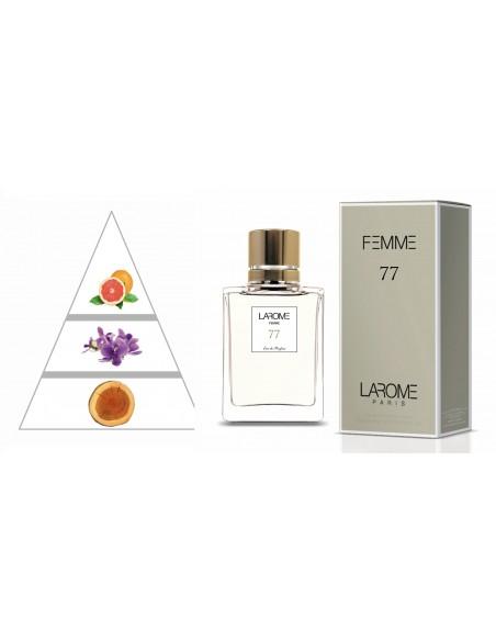 LAROME (77F) Perfume Femenino - Pirámide olfativa
