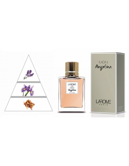 MON ANGELINA by LAROME (91F) Perfum Femení - Piràmide olfactiva