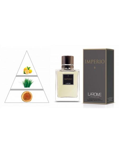 IMPERIO by LAROME (8M) Perfum Masculí- Piràmide olfactiva