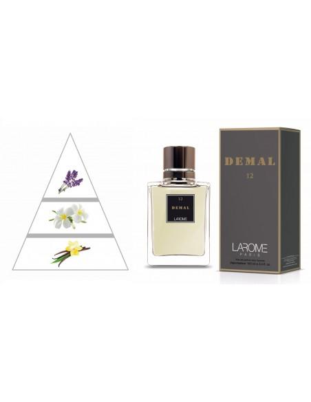DEMAL by LAROME (12M) Perfume Masculino - Pirámide olfativa