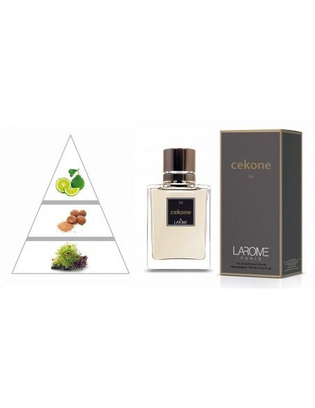 CEKONE by LAROME (16M) Perfume Masculino - Pirámide olfativa