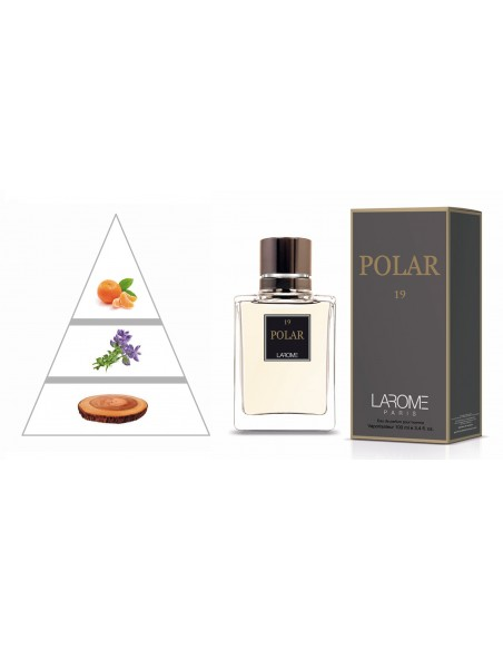 POLAR by LAROME (19M) Perfum Masculí- Piràmide olfactiva