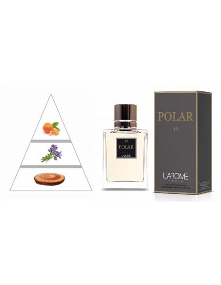 POLAR by LAROME (19M) Perfume Masculino - Pirámide olfativa