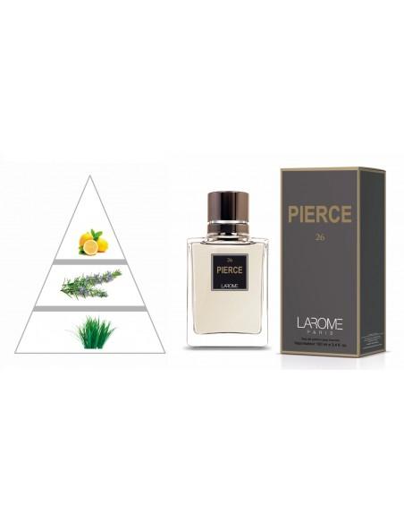 PIERCE by LAROME (26M) Perfume Masculino - Pirámide olfativa