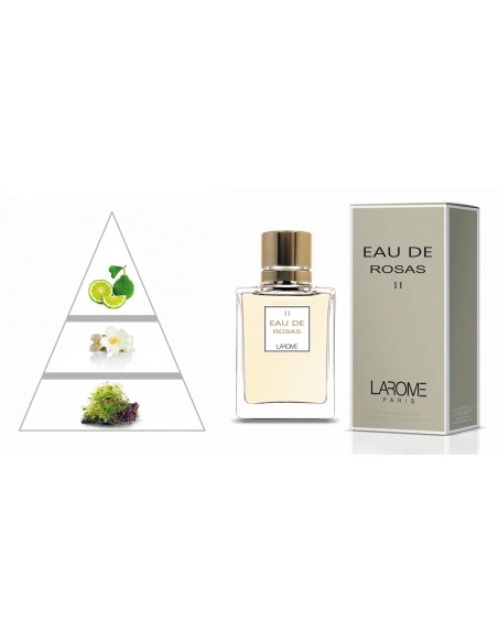 EAU DE ROSAS by LAROME (11F) Perfum Femení - Piràmide olfactiva