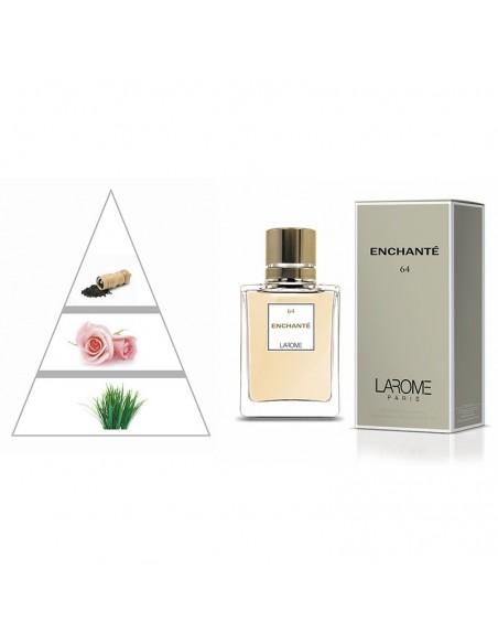 ENCHANTÉ by LAROME (64F) Perfume Femenino - Pirámide olfativa