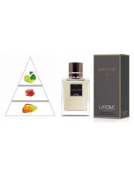 SALVAJE by LAROME (39M) Perfum Masculí- Piràmide olfactiva