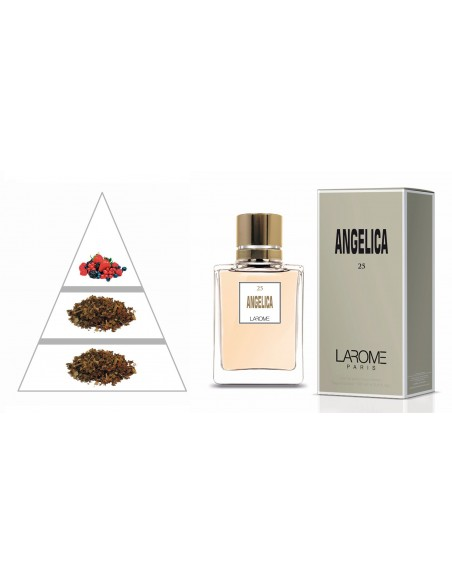 ANGELICA by LAROME (25F) Profumo Femminile - Piramide olfattiva