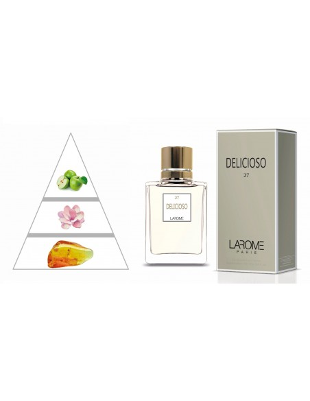 DELICIOSO by LAROME (27F) Perfume Femenino - Pirámide olfativa